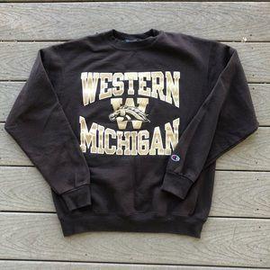 Western Michigan collegiate Crewneck sweatshirt